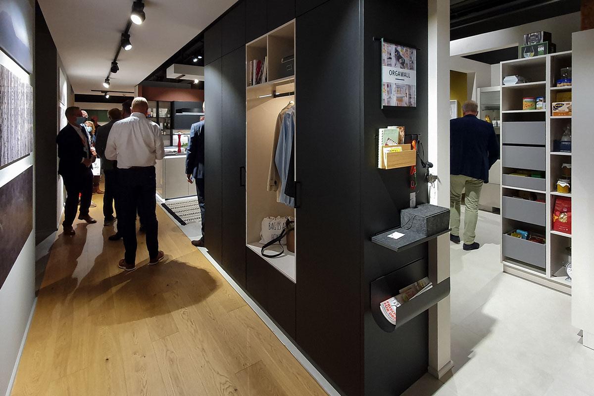 Garderobenschrank von Schüller mit Orgawall